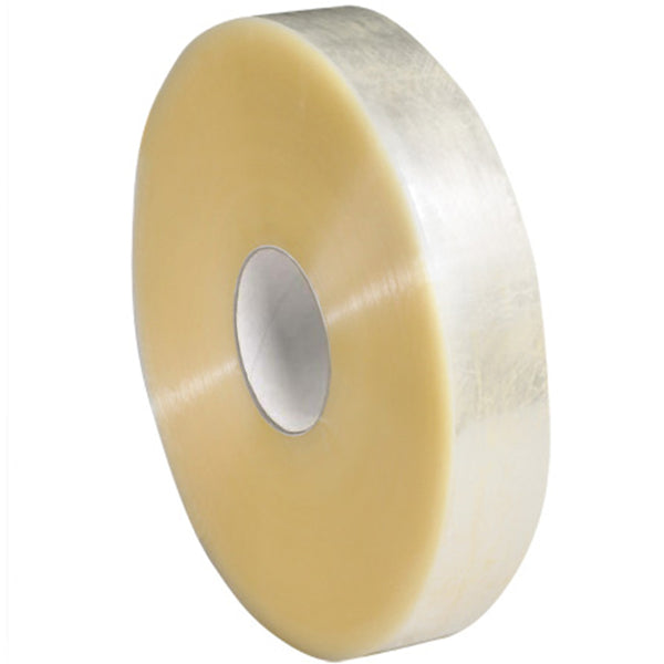 2 in. X 1500 yards 1.8 Mil Hot Melt Machine Tape