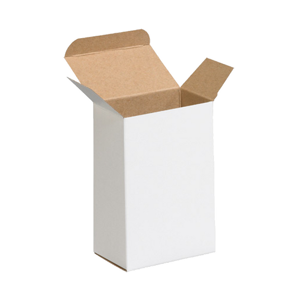 4 x 2 1/2 x 6 White Chip Carton