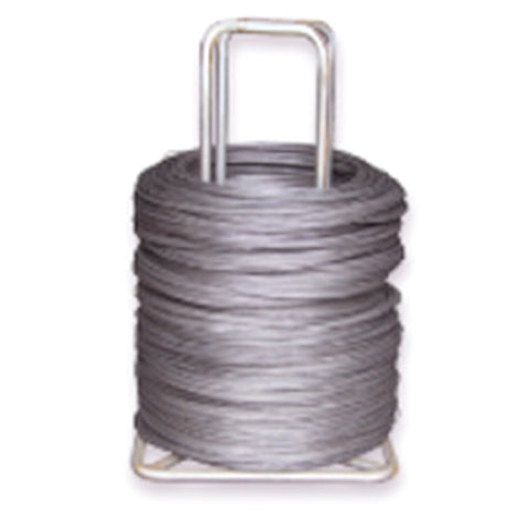 14\' 12-Gauge Galvanized Single Loop Baling Wire