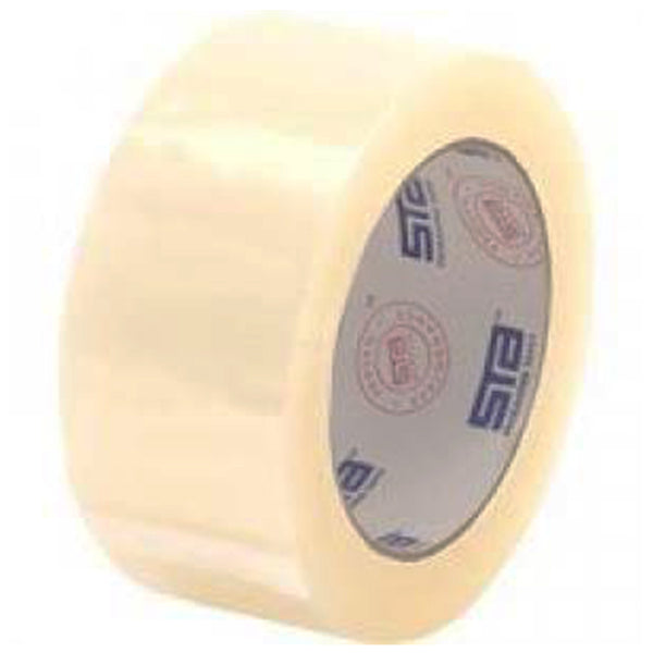 STA Clear Acrylic Carton Sealing Tape 2 in. X 110 yards 3.1 Mil
