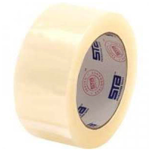 STA Clear Acrylic Carton Sealing Tape 3 in. X 110 yards 2 Mil