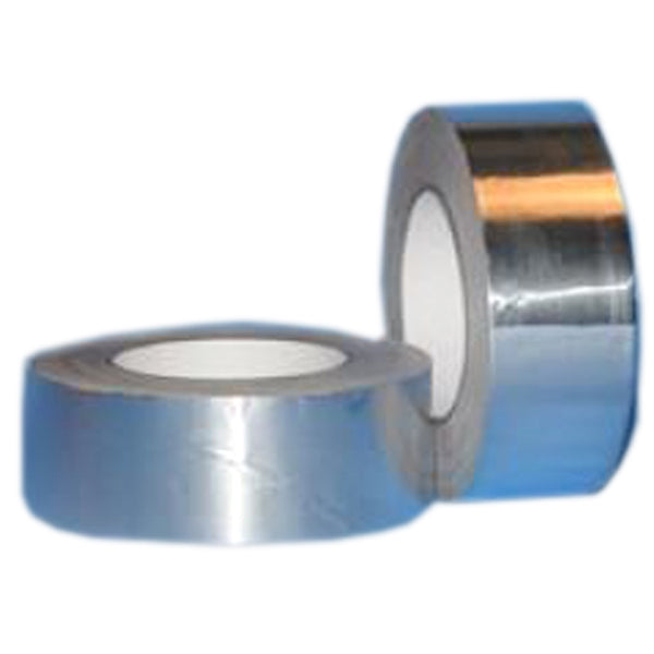 Silver strapping tape