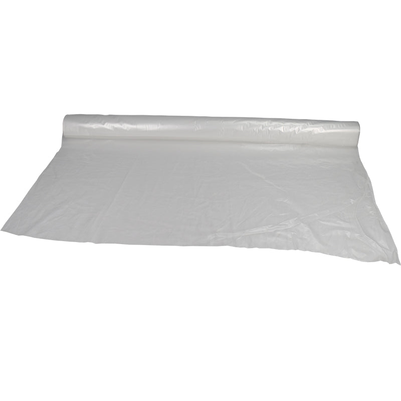 12 X 400 1 Mil Clear Plastic Sheeting