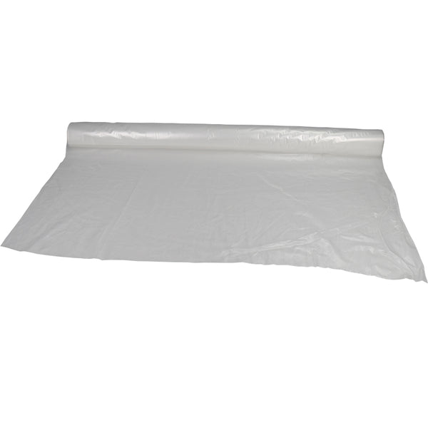 Plastic sheeting rolls - Clear 8.4 ft. x 200 ft. 1.5 Mil plastic sheeting