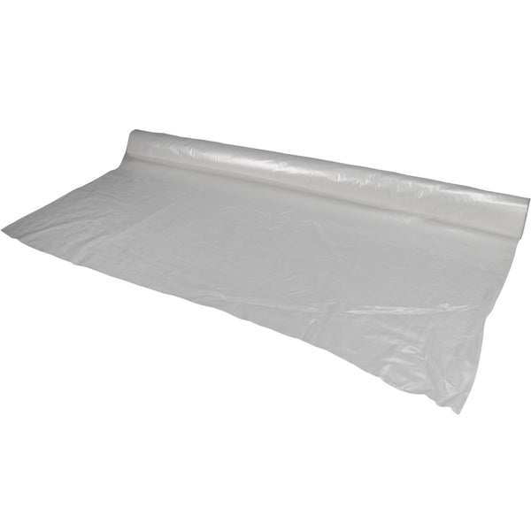 "Clear Poly Sheeting rolls - 50"" x 48"" 1 Mil"