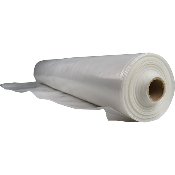 12' x 100' 6 Mil Plastic Sheeting Fire Retardant