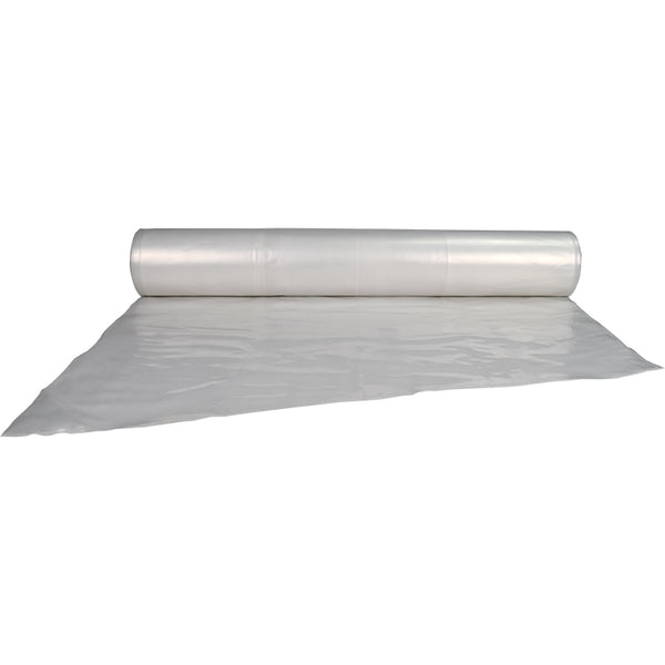 clear plastic sheeting rolls - 10 ft. x 100 ft. 4 Mil