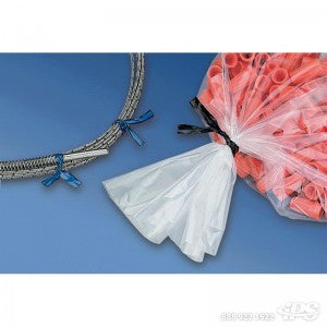 "Twist Ties Pl 4"" COLOR - Poly Bags and Supplies The Packaging Group"