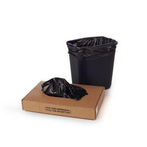 "16"" x 14"" x 36"" x .004 LD Black Liner 100 per case - Poly Bags and Supplies The Packaging Group"