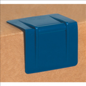 "1-1/4"" Signode P41 Blue Plastic Edge Protector 1000 per case - Edge Protectors The Packaging Group"
