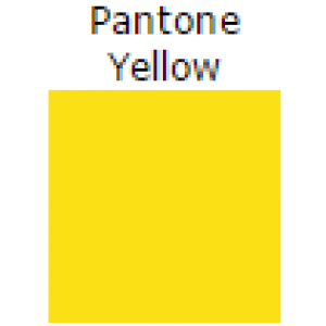"4"" x 6"" Pantone Yellow Thermal Label Perfed 1000per roll 4rl per case"