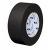 "7/10"" x 60 yards Water Resistant Black Masking Tape"