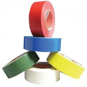 Tesa 53956 Industrial grade polycoated cloth tape Yellow
