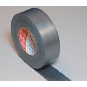 Tesa 53956 Industrial grade polycoated cloth tape Silver