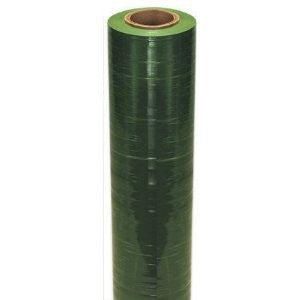 "20"" x 80 Gauge x 5000' Green Machine Grade Identi-Film Color Stretch Film"