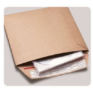 "#3 Gator Pak Rigi Mailer 8-1/2"" x 13"" 200 per case - Rigid Chipboard Mailers The Packaging Group"