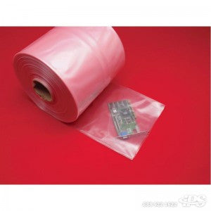 "10"" 4 Mil x 750' Anti-Static Poly Tubing - Poly Bags and Supplies The Packaging Group"