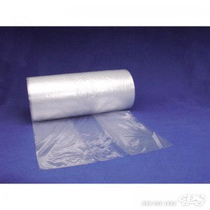 "58"" x 46"" x 96"" x .0015 Gusseted Poly Bag 60 per roll - Pallet Covers The Packaging Group"