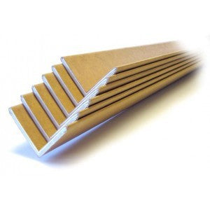 "2"" x 2"" x 72"" .160 Edge Protectors - Cased 1 per pack 50/Case"