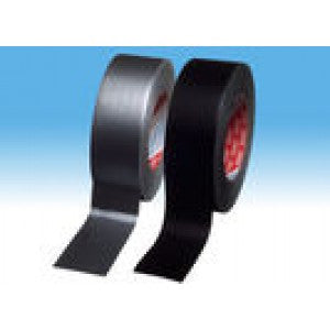 Tesa 53952 Economy grade polycoated cloth tape Black