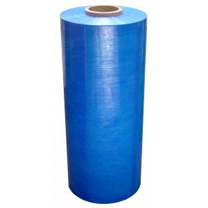 "20"" x 5000' 80 Gauge Blue Stretch Film 40rlper skidid 1rl per case 40rlsper skidid"