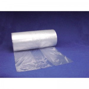 "6"" x 3"" x 18"" 1 Mil Gusseted Poly Bags on a Roll"