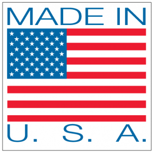 "4"" x 4"" USA Label"