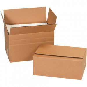 12 x 12 x 12 Multi-Depth Corrugated Boxes