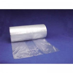 "8"" x 4"" x 15"" 1 Mil Gusseted Poly Bags on a Roll"