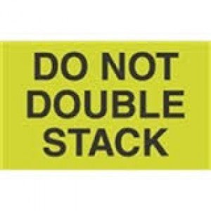 "8-1/2"" x 11"" DO NOT DOUBLE STACK"