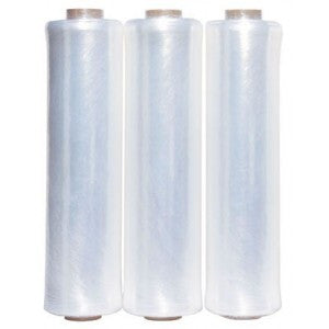 "15"" x 1476' Cornerstone HP Prestretch Hand Stretch Film Bulk Packed 168rl per skid"