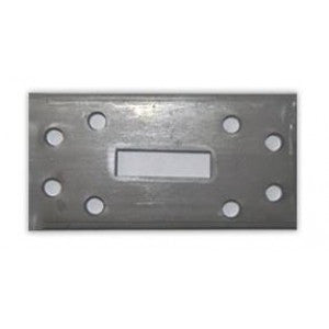 "1-1/4"" Anchor Plate 250 per case 2"" x 4"" x .125"""