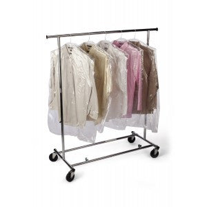 "21"" x 4"" x 54"" x .0006 Garment Bag - Poly Bags and Supplies The Packaging Group"