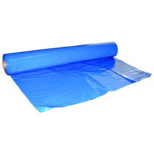 17' X 120' X .006 Blue Shrink Film - Blue Marine Shrink Film The Packaging Group