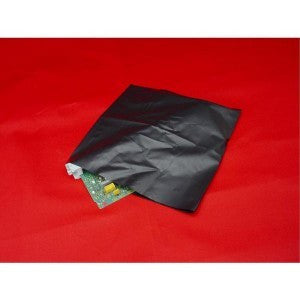 "14"" x 18"" 4 Mil Black Conductive Poly Bag - Poly Bags and Supplies The Packaging Group"