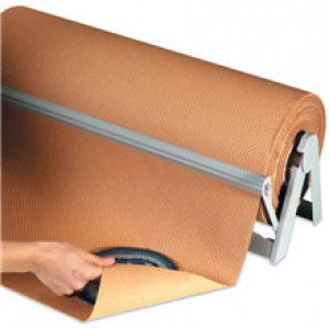 "24"" - Indented Kraft Paper Rolls 1 per pack"