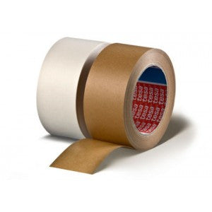 Tesa 53313 Performance Grade Kraft Flatback Tape With a Blend of Natural - Paper Tapes The Packaging Group