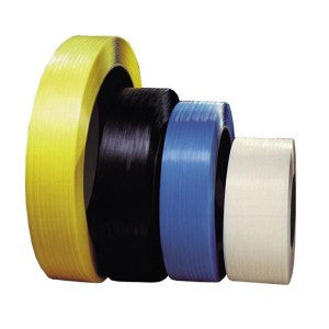 "Black Poly Strapping - 1/2"" x 8,000 HD816B 16x6"