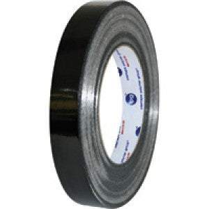 "1"" x 60 yards Black Strapping Tape - TPP Tape The Packaging Group"