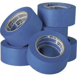 "1"" x 60 yards Blue Painters Masking Tape"