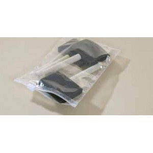 "10"" x 7"" 3 Mil Reclosable Slider Poly Bag - Poly Bags and Supplies The Packaging Group"