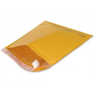 "#4 Air Bubble Kraft Self Seal Mailer 9-1/2"" x 14-1/2"" - Kraft Bubble Mailers The Packaging Group"