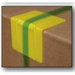 "1-1/4"" Signode P41 Yellow Plastic Edge Protector 1000 per case - Edge Protectors The Packaging Group"