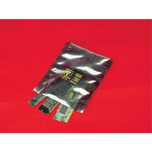 "4"" x 24"" Metallic Shielding Bag - Poly Bags and Supplies The Packaging Group"