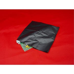 "18"" x 24"" 4 Mil Black Conductive Poly Bag - Poly Bags and Supplies The Packaging Group"