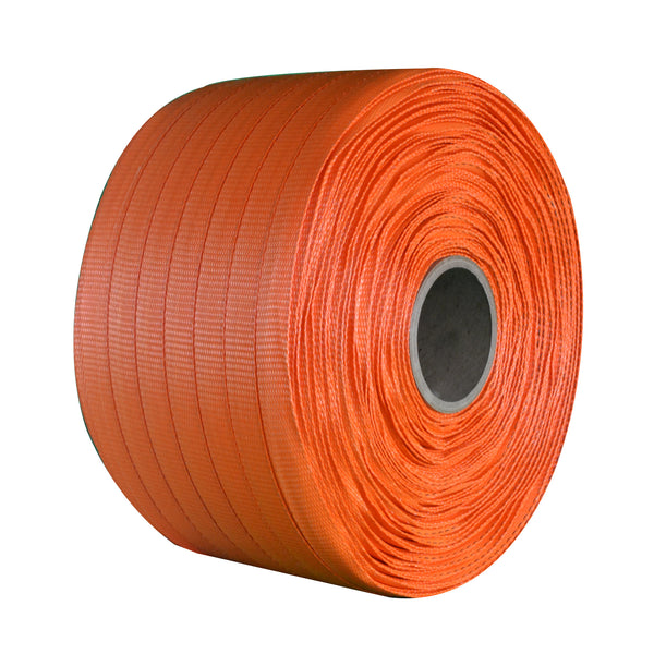 "Medium Duty Woven Polyester Strapping - 3/4"" x 1650"