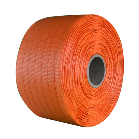 "Heavy Duty Woven Polyester Strapping - 3/4"" x 1650"