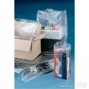 "10"" x 6"" x 20"" 1 Mil Gusseted Poly Bag - Poly Bags and Supplies The Packaging Group"