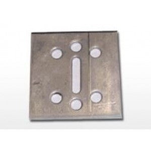 "3/4"" Anchor Plate 500 per case 2"" x 2"" x .125"""