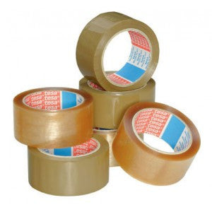 "2"" x 110 yards 1.9 Mil Clear Tensilized Polypropylene Tape"